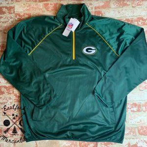 NWT NFL Green Bay Packers Sideline Pullover XXL